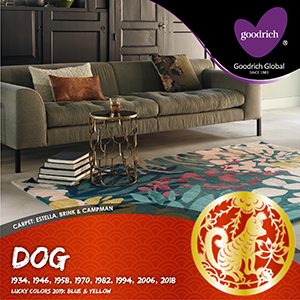 Dog_CNY_Zodiac_Artwork_2019 Good Luck #2019 colours for Chinese Zodiac:  DOG