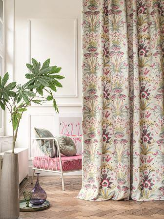 CAMENGO_PARADIS-PARADI-ambiance-fable-rose Collection - Paradis Fabric