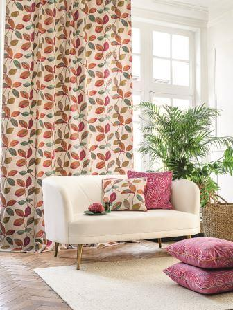 CAMENGO_PARADIS-PARADI-ambiance-magie-rose Collection - Paradis Fabric