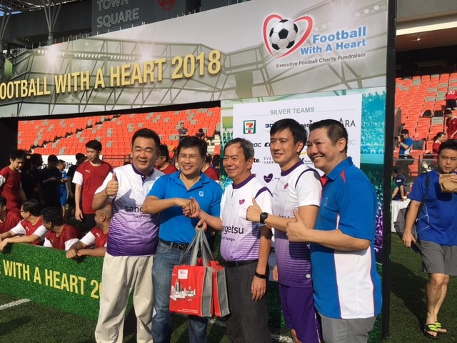 3 Football With A Heart 2018