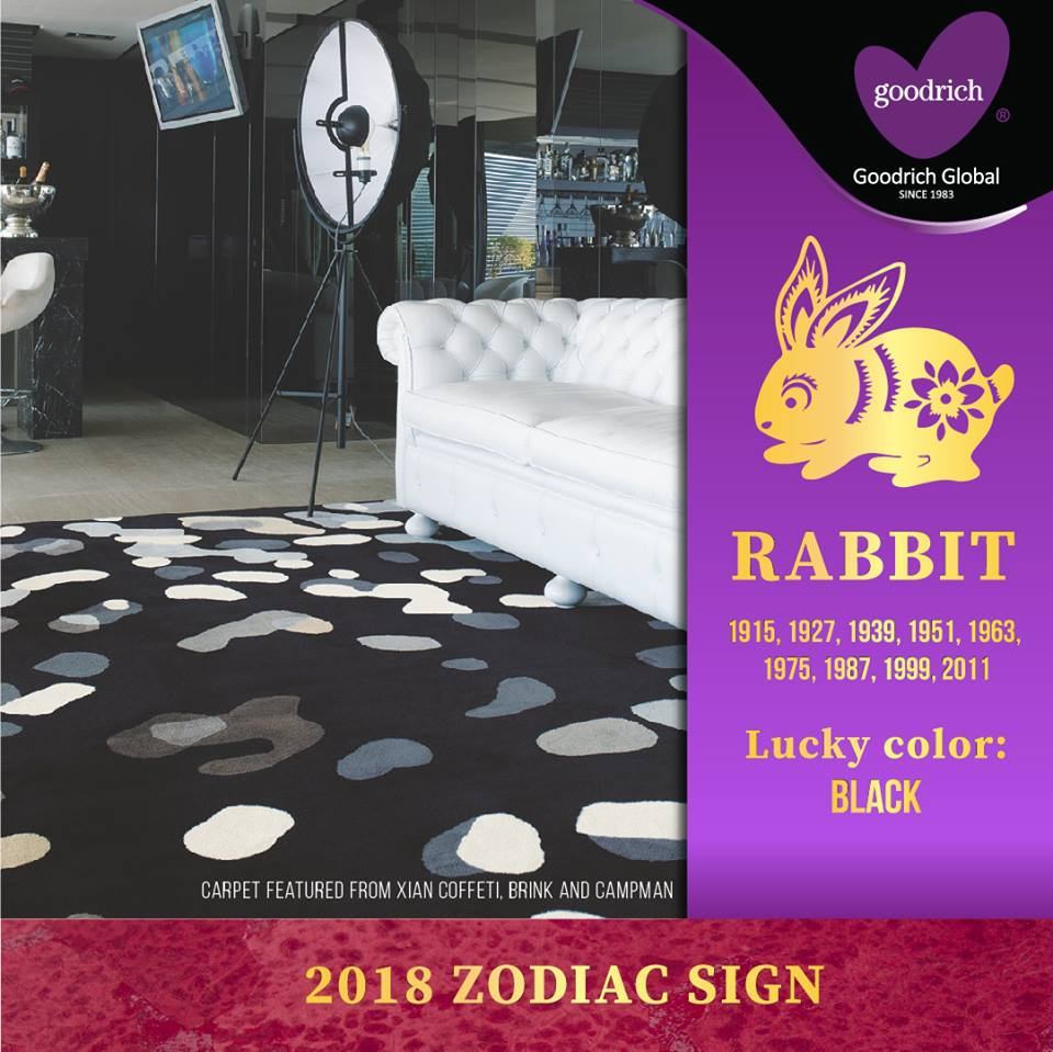 rabbit Get a Glimpse of your #2018 Lucky Color: Rabbit