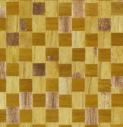 6410 Collection - Gilded Accent & Grid Wallpapers