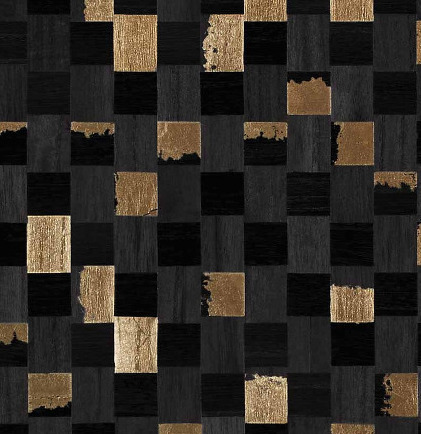 6411 Collection - Gilded Accent & Grid Wallpapers